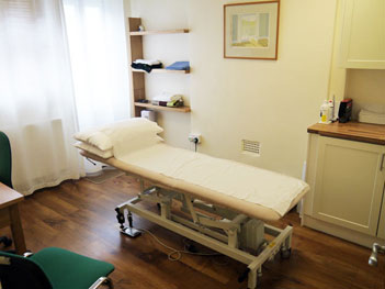 Practice Room for Osteopathic Treatment