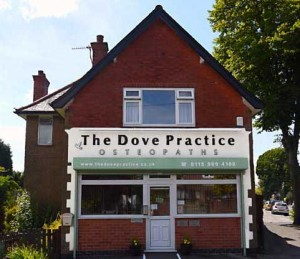 Nottingham Mapperley Osteopathic practice-front